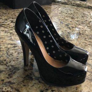 Patent Black Madden Girl High Heels